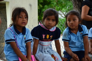 Children in Calakmul
