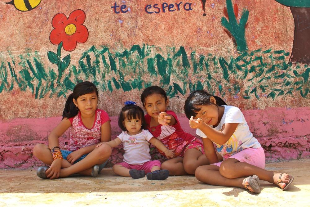 Santa Rosa, Mexico, children